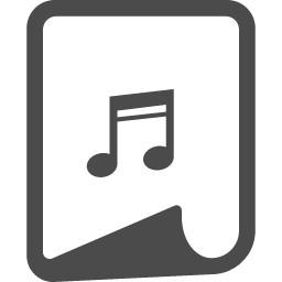 音楽ファイルアイコン 8
